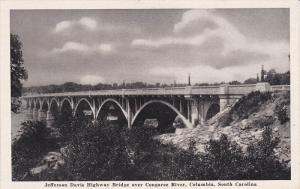 Jefferson Davis Highway Bridge over Congaree River, Columbia, South Carolina,...