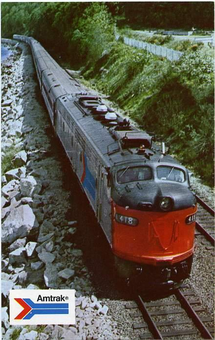 Amtrak Coast Starlight Railroad - Opeating between Seattle and Los Angeles