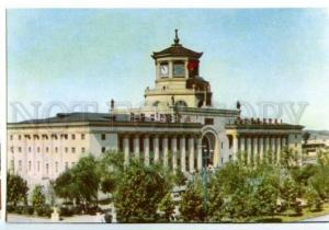 154793 North Korea PYONGYANG Railway Station OLD photo PC