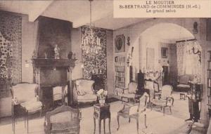 France Saint Bertrand de Comminges Le Moutier Le grand salon