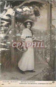 Postcard Salon 1912 Old Orchard Back