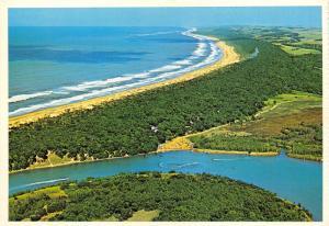 South Africa Postcard, Beach and Umlalazi River, Mtunzini, Zululand 35B