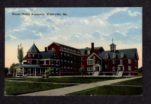 ME Mount MT Merici Academy WATERVILLE MAINE Postcard PC