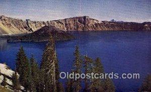 Wizard Island - Crater Lake, Oregon