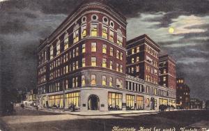 Monticello Hotel (At Night), Norfolk, Vermont, PU-1915