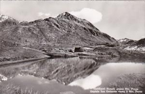 Switzerland Gothard Hospiz gegen Monte Prosa 1956 Photo