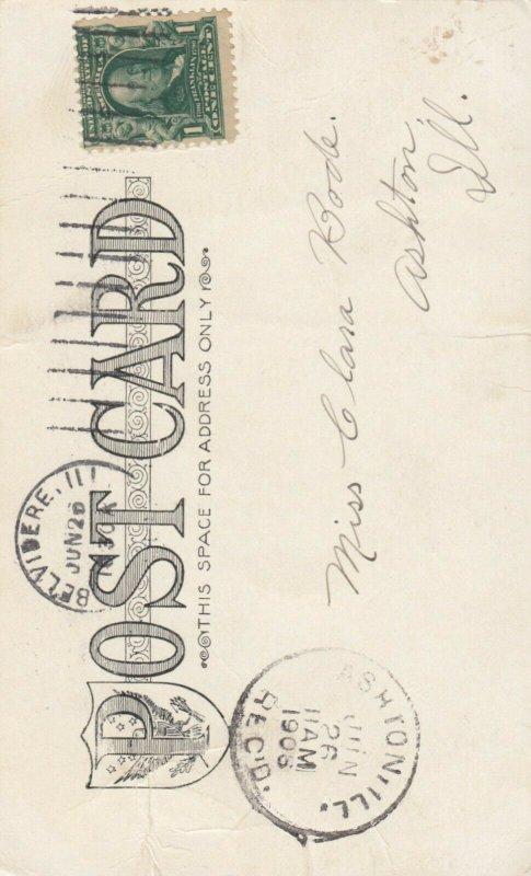 BELVIDERE , Illinois , PU-1906 ; YMCA