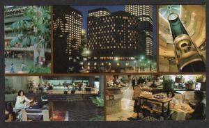 PQ Hotel Meridien Complexe Desjardins Montreal Quebec Postcard Carte Postale PC