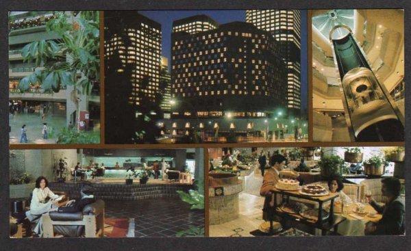 Carte Canada Montreal.Pq Hotel Meridien Montreal Quebec Canada Postcard Pc Carte