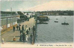 VINTAGE POSTCARD: GB : ISLE OF WIGHT - RYDE
