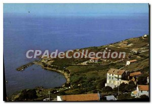 Modern Postcard The Port Of Cargese
