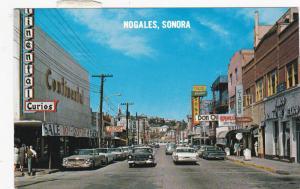 NOGALES, Sonora, Mexico, 1950-1960´s; Obregon Avenue, Continental Curios, Tailor
