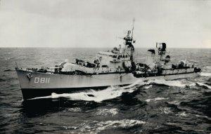 Nautica Battleship Hr. Ms. jager Gelderland RPPC 04.41