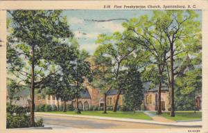 First Presbyterian Church, SPARTANBURG, South Carolina, PU-1941