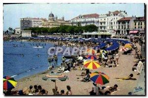 Postcard Modern French Riviera Saint Raphael Var Beach