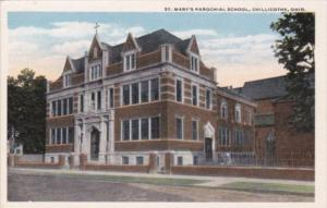 Church St Mary's Parochial School Chillicothe Ohio