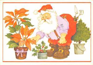 Modern Card Santa Claus 1986