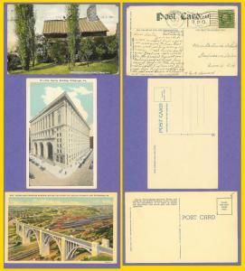 3 Pittsburgh-Westinghouse Memorial Bridge-Schenley Park 1909