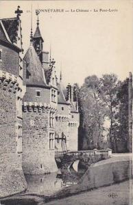 BONNETABLE, La Chateau, Le Pont-Levis, Sarthe, France, 00-10s