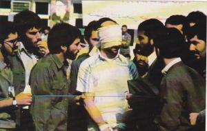 Blindfolded American Embassy Official Tehran Iran