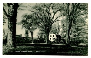 MA - Hadley. Forty Acres, Porter Phelps Huntington House