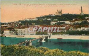 Postcard Old Lyon Hill View of Fourviere
