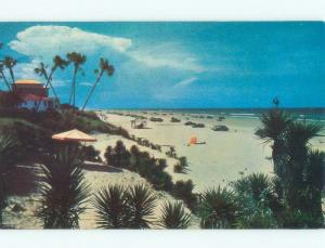 Pre-1980 PLAZA HOTEL LONG BEACH Daytona Beach Florida FL d7654