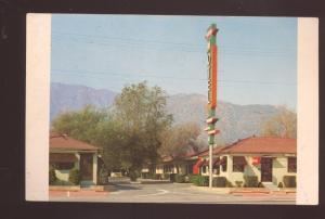 DUARTE CALIFORNIA ROUTE 66 CAPRI MOTEL VINTAGE ADVERTISING