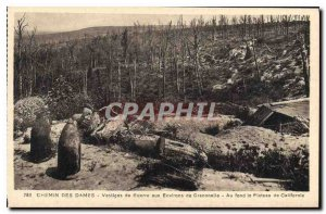 Old Postcard Chemin des Dames Remnants of War to the surroundings Craonnelle ...