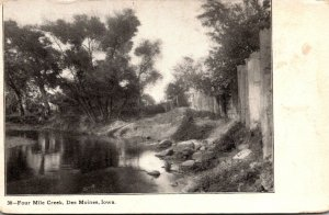 Iowa Des Moines Four Mile Creek