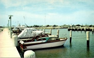 Maryland Cresfield Greetings With Partial View Of Somers Cove Marina