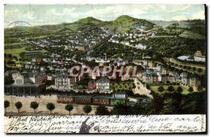 Postcard Old Train Bad Nauheim