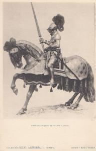 Philip Felipe 2 II III King Of Portugal in 1550 & Spain Knight Armour Horse P...