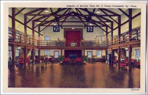 Interior Service Club, Camp Campbell KY