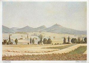 Postcard Germany Arthur Lehmann Trifels Pfalz