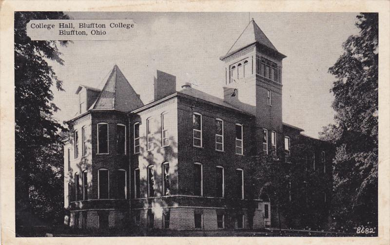 College Hall, Bluffton College, Bluffton, Colorado, PU-1950