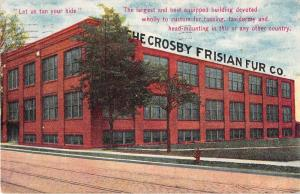 Rochester New York Crosby Frisian Fur Co Antique Postcard J50001