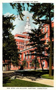 Connecticut Hartford New Aetna Life Building