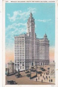 Illinois Chicago Wrigley Building South And North Sections 1929