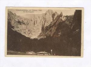 Scharitzkehlalpe mit Hohem Goll bei Berchtesgaden, Germany , PU-1925