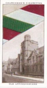 Church Vintage Cigarette Card Well Known Ties No 35 Old Uppinghamians