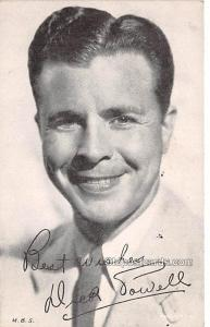 Dick Powell Movie Star Actor Actress Film Star Postcard, Old Vintage Antique ...