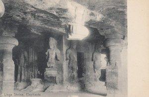 Linga Shrine , Elephanta , India , 00-10s