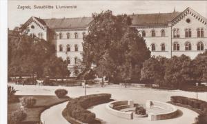 RP:Zagreb , Sveuciliste L'universite , Croatia , PU-1926