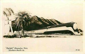Railroad, Daylight Streamline Train, Southern Pacific Company, RPPC