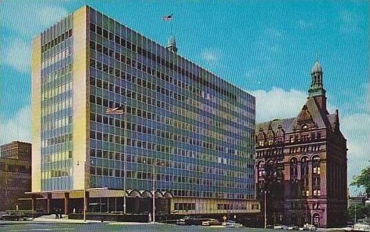 Wisconsin Milwaukee City Hall And New Municipal Building