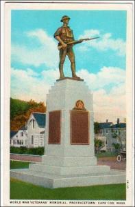 World War Veterans Memorial, Provincetown, Cape Cod MA