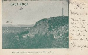 NEW HAVEN, Connecticut, 1905; East Rock, showing Soldiers' Monument