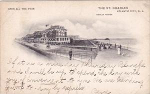 New Jersey Atlantic City Open All The Year The Saint Charles 1907