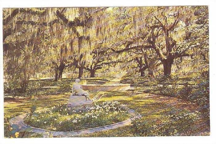 Brookgreen Gardens, Georgetown County, South Carolina, 40-60s